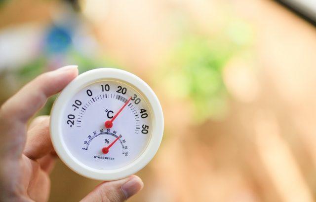 温度と湿度との戦い
