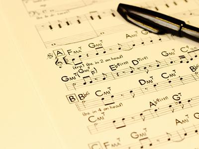 作曲の発注について
