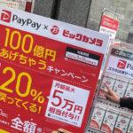 PayPayでTVが100%オフ?! (我が家のTV購入迷走記)