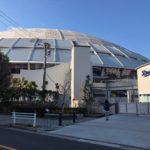 球場がコンサート会場へ変身